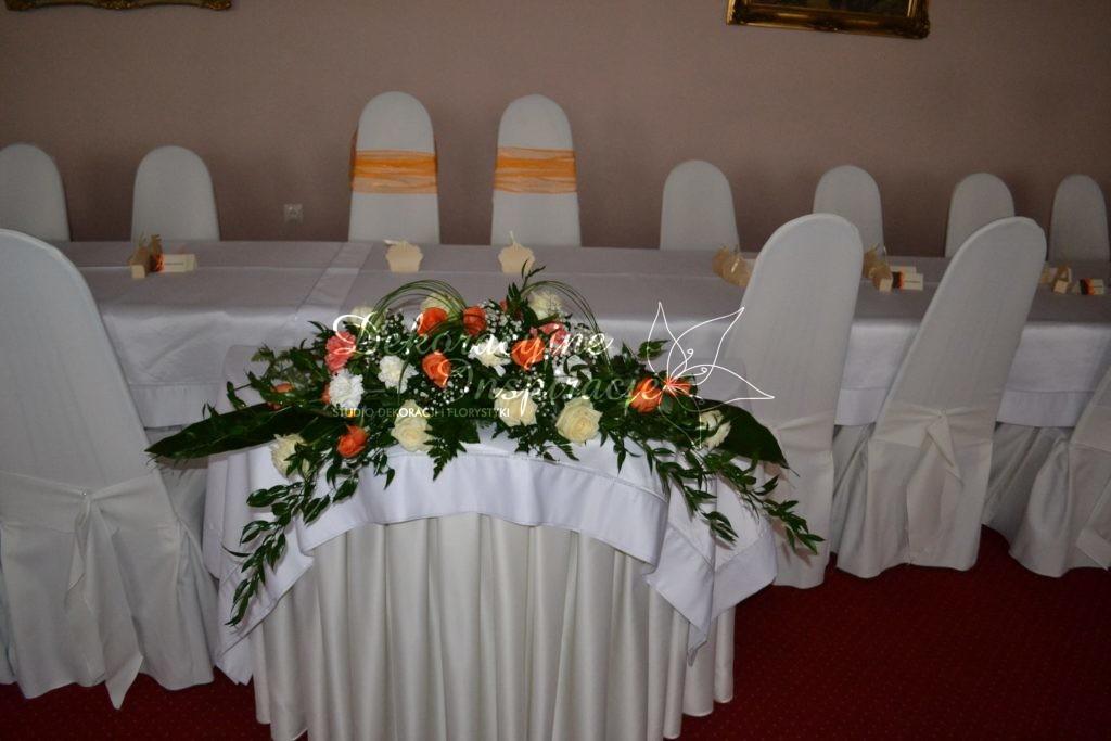 dekoracje sali weselnej