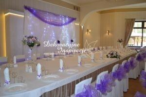 dekoracje sali weselnej częstochowa
